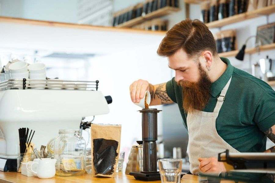 Fresh coffee and gourmet products at Food & Drink markets